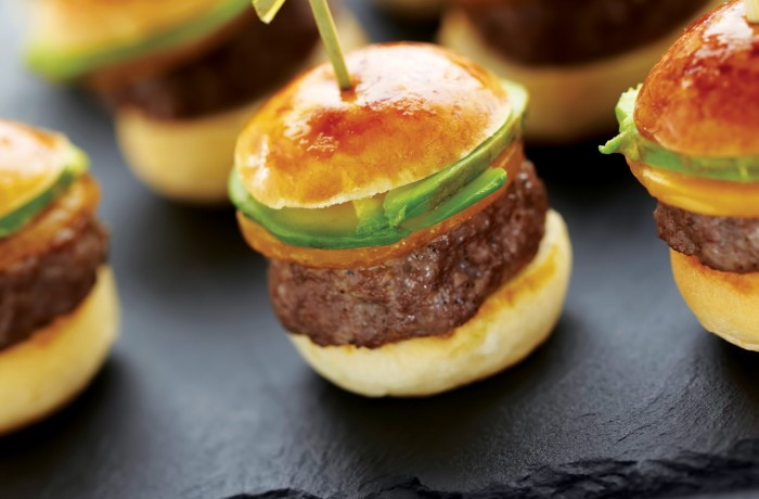 BISON & AVOCADO SLIDERS